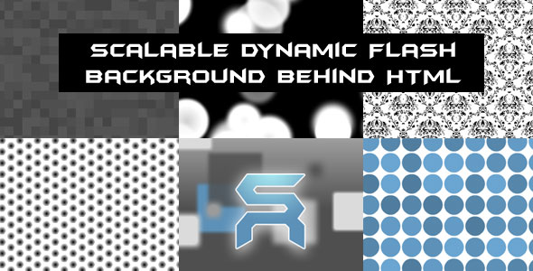 its called Scalable Dynamic Flash Background Behind HTML and its a easy