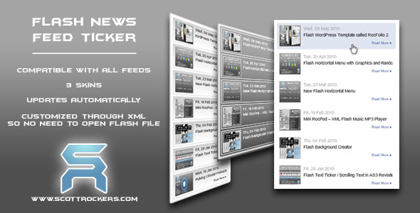 Flash News Feed Ticker